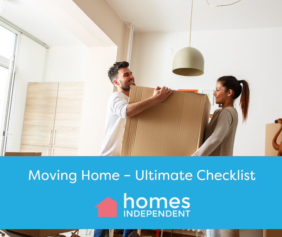 Moving Home – Ultimate checklist